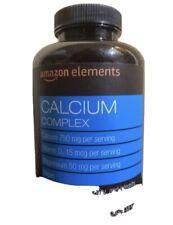 Amazon Elements  Calcium Complex 195 Capsules {VS-A}