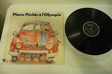 PIERRE PECHIN A L'OLYMPIA LP BARCLAY FRANCE 90072. CAR COVER.