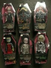 Living Dead Dolls Series 6 Lot of 6 Nib Excellent Condition Nos Horror Gothic