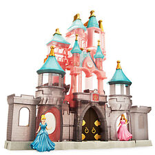 Disney Parks Sleeping Beauty Princess Castle Deluxe Play Set w/Figurines NIB