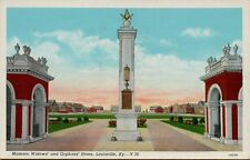 VTG Masonic Widows' and Orphans' Home in Louisville Kentucky KY Postcard