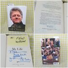 My Life Bill Clinton Autographed Hand Signed for Chief Counsel 1st Edition HC/DJ