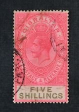 Ckstamps: Gb Stamps Collection Gibraltar Scott#89 Used