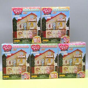 """Pretty Cure """"Purikyuー to Town"""" 3 story house mini figure 5 type set BANDAI"""