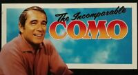 The Incomparable Perry Como 3 Cassette Box Set.Reader's Digest CINC 3A.