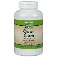 Now Foods GUAR GUM Powder Natural Thickener Gluten-Free Keto Diet 8 oz