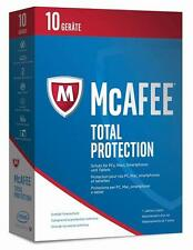 McAfee Total Protection 2017 10 Geräte / 12 Mon. ESD Download Windows neu & OVP