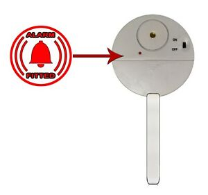 Patio Door Lock ALARMED PEG - Only for Tough & Easy CROC Patio Door Locks!