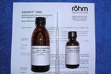 Plexiglas-Adhésif acrifix ® 2r 1900, 100 ML, plastique adhésif, agovit 1900