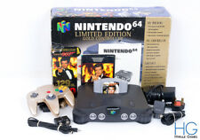 N64 Nintendo 64 Goldeneye 007 Limited Edition Boxed Console Bundle! PAL