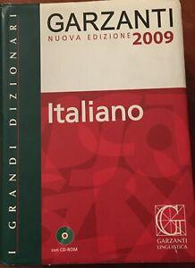 """Dizionario Monolingua Italiano, """"I Grandi Dizionari"""", Garzanti"""