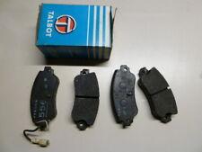 Simca Chrysler 160 - 180 - 2 ltrs. Plaquettes de frein Arrière, Ferodo 556, NOS