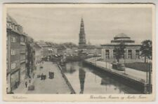 Denmark postcard - Kobenhavn, Thorvaldsens Museum og Nicolai Taarn