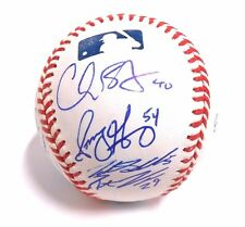 Sonny Gray Brett Lawrie Mark Canha Autographed Auto Signed Baseball Oakland A's