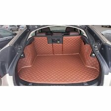 Car Trunk Boot Liner Mats Auto Cargo Carpet Cover For BMW 5 Series GT 2010-2014