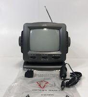 jWIN Model JV-TV1010 Black And White TV Radio Combo Working