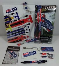 2017 Indy 500 Program Fan Pack Event Pins Patch Banner Decal Lanyard Holder Pen