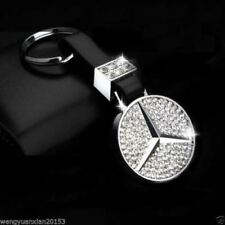 Zinc Alloy FOR Mercedes Benz² Crystal C E G S SLK SL AMG key chain keychain ring