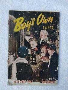 Boy's Own Paper December 1947