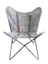 Couch Mix Iron Stand and Leather Cover for Indoor Outdoor Chair