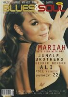 BLUES & SOUL MAGAZINE - MARIAH CAREY, JUNGLE BROTHERS, GEORGE BENSON-MAY/JUN 98