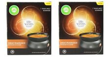 2 X Airwick Life Scents Electric Wax Melt Warmer 100