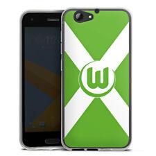 HTC One A9 s Silikon Hülle Case HandyHülle - Vfl Wolfsburg