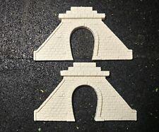 Cut Stone Tunnel Portals, Single Track, Pair