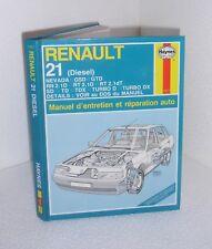 Renault 21 diesel.HAYNES. CV18