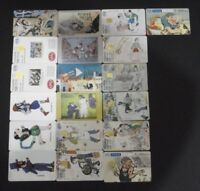 GREECE LOT 19 DIFFERENT PHONECARDS WITH THEME: shadow theatre GRIEKENLAND GRECIA
