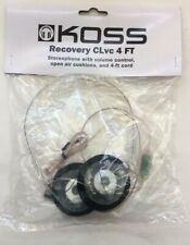 Koss Recovery CLvc Clear Headphones (NEW) free shipping
