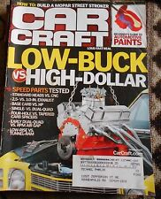 CAR CRAFT MAGAZINE Sept. 2007- Low Buck High  Dollar speed parts, Mopar Stroker