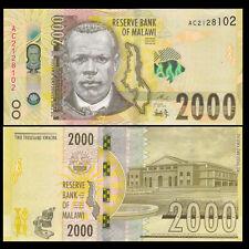 Malawi 2000 (2,000) Kwacha, 2016, P-New, UNC