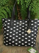 """SOLD OUT! KATE SPADE NEW YORK """"HAWTHORNE LANE SWANS"""" SMALL RYAN TOTE BAG, NWT"""