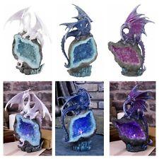 Nemesis LED Light Guardian Geode Dragons Custodians Figurine Statue Ornament
