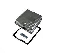 700R4 Polished Aluminum Transmission Pan Chevy GM 4L60E 4L65E SBC BBC Trans Pan