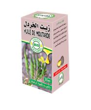 Huile de Moutarde Bio - 30 ml chute santé stimulation cheveux antipelliculaire