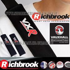 Richbrook Official Vauxhall VXR Car Seat Belt Comfort Shoulder Harness Pads Set