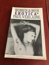 Paul Verlaine Women & Men Erotica Philip Shirley Paperback Very Good Illustrated