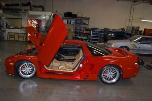 Acura NSX 90 91 92 93 94 95 96 -2005 Vertical Doors inc. BOLT ON lambo door kit