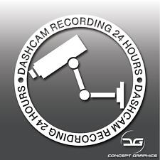 Warning Dashcam Recording Car Security Window Bumper Vinyl Decal Sticker CCTV