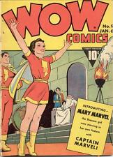 Wow Comics #9 Photocopy Comic Book, Mary Marvel