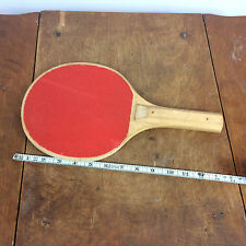 Vintage PickleBall Paddle Racquet backyard Tennis Court Game Pickle Ball