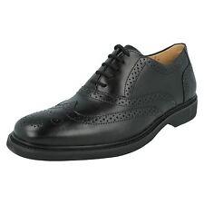 Anatomic&Co 'Gabriel' Men's Black Lace Up Leather Brogue Shoes Anatomic Gel