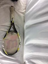 "Wilson (K) Fierce Tennis Racket, 27"", 4 1/2"""