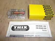 Trix Express 66592 6592 Switching Relay New Checked with Instructions Boxed