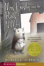Mrs. Frisby and the Rats of Nimh (Aladdin Fantasy)-ExLibrary