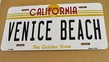 USA California Venice Beach Auto Nummernschild License Plate Deko Blechschild