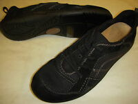 Earth Origins Carly Leather & Mesh Slip-On Bungee Lace Sneakers Womens Shoes