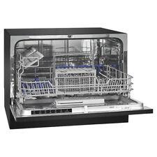 BOMANN Tisch-Geschirrspüler TSG 709 A+ Geschirrspülmaschine Spülmaschine schwarz